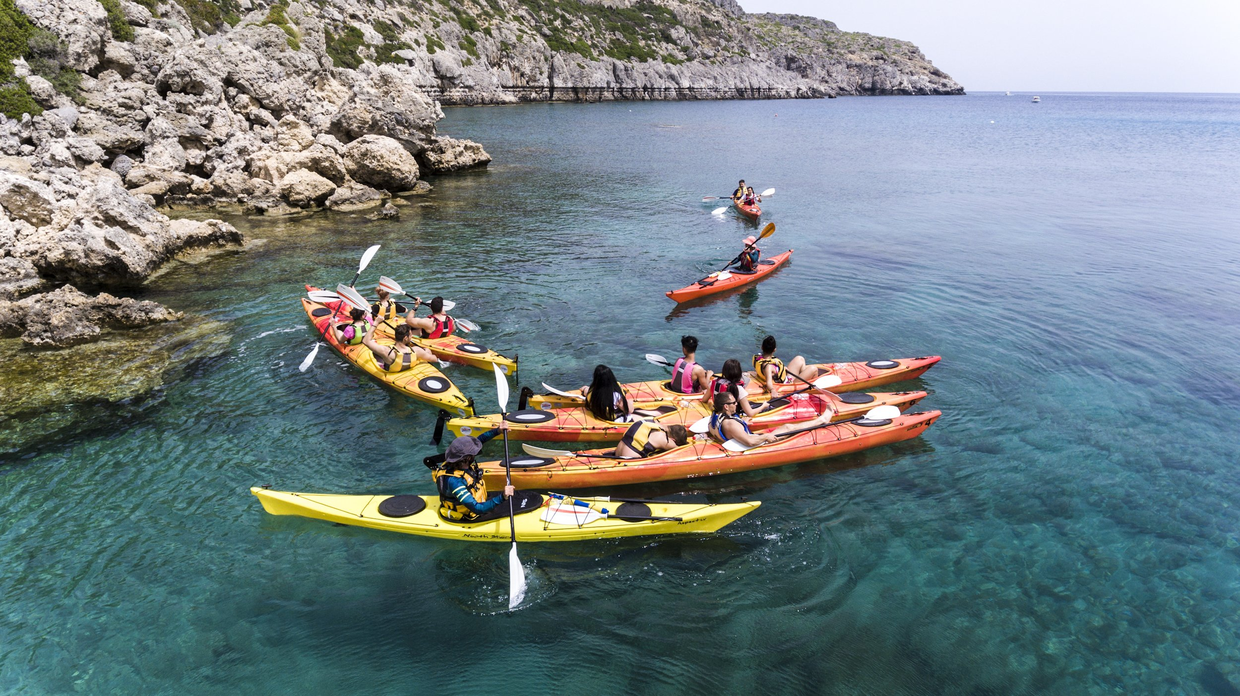 Paddle Across The Coastline Passing Wonderful Sea Caves And Beautiful Rock Formations In Our Sea Kayak Day Tour