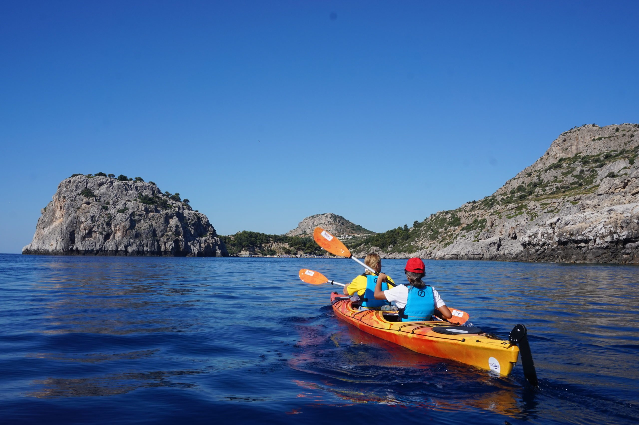 Paddle Your Sea Kayak Along Stretches Of Unique Bays And Breathtaking Rock Formations In Our Sea Kayak Half Day Tour