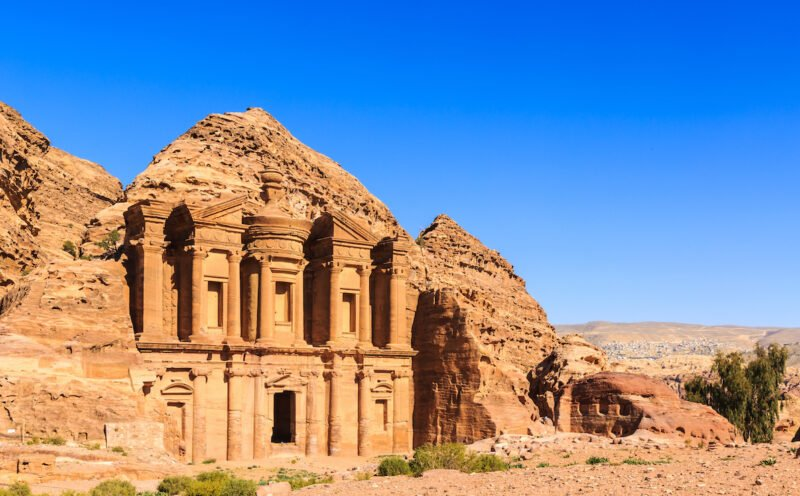 Explore The Majestic City Of Petra On The 13 Day Highlights Of Israel, Saudi Arabia & Jordan Package Tour 1