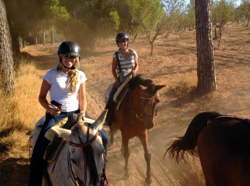 Relax And Enjoy The Nature On The Andalusian Horseback Riding From Seville
