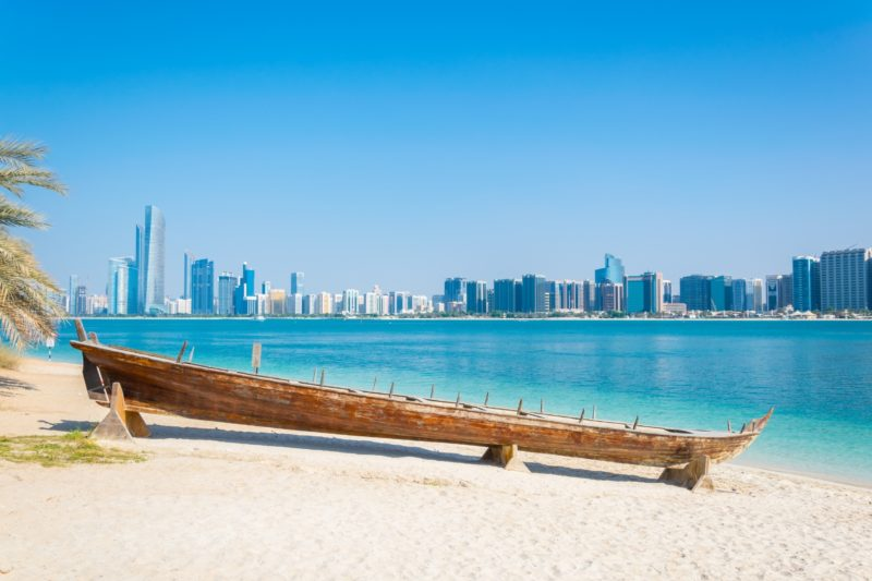 Relax At The Abu Dhabi Beaches On The 13 Day Israel, Jordan, Dubai And Abu Dhabi Package Tour