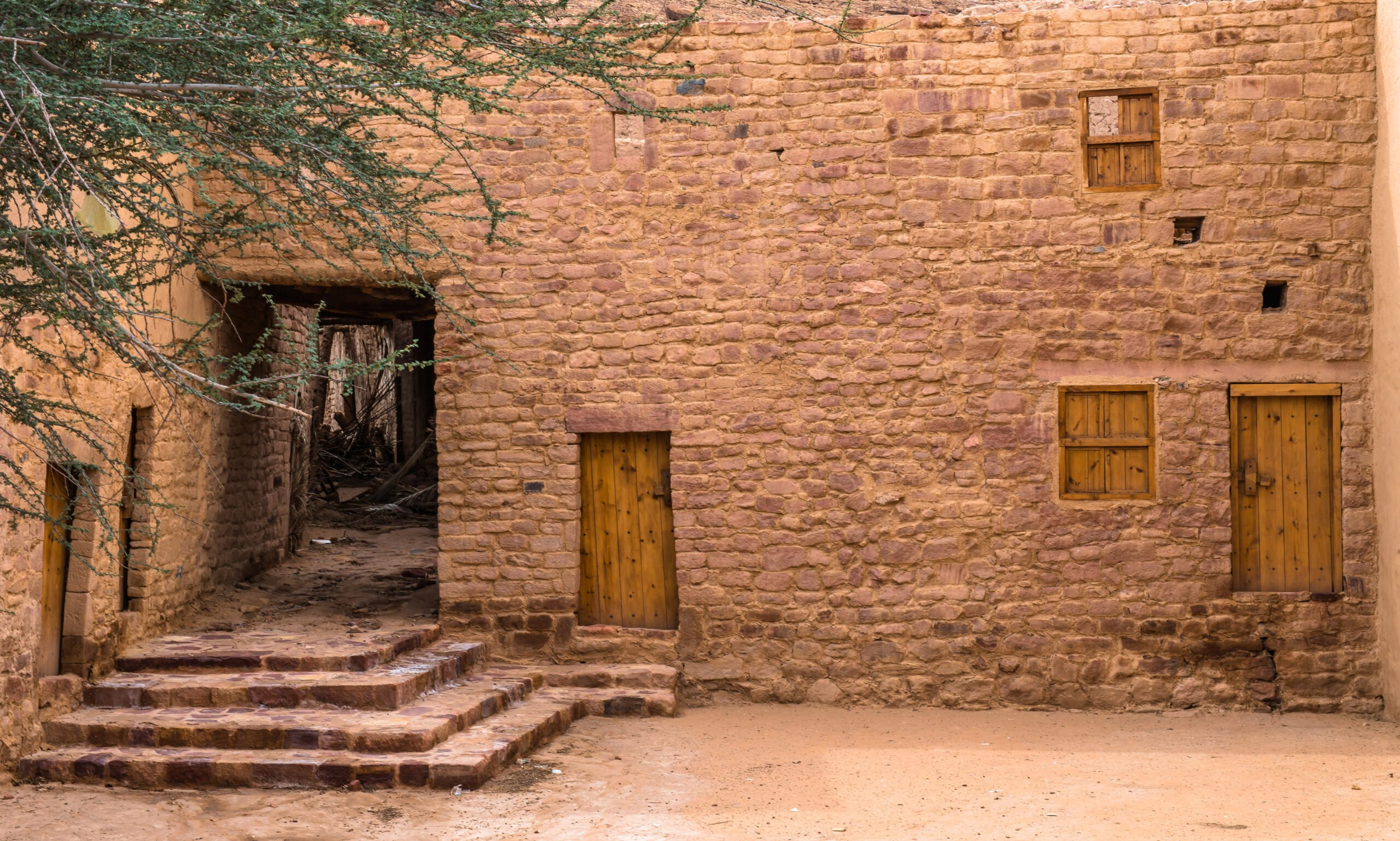 See The Traditional Houses In Al Ula Village On The 3 Day Madain Saleh Tour From Al Ula