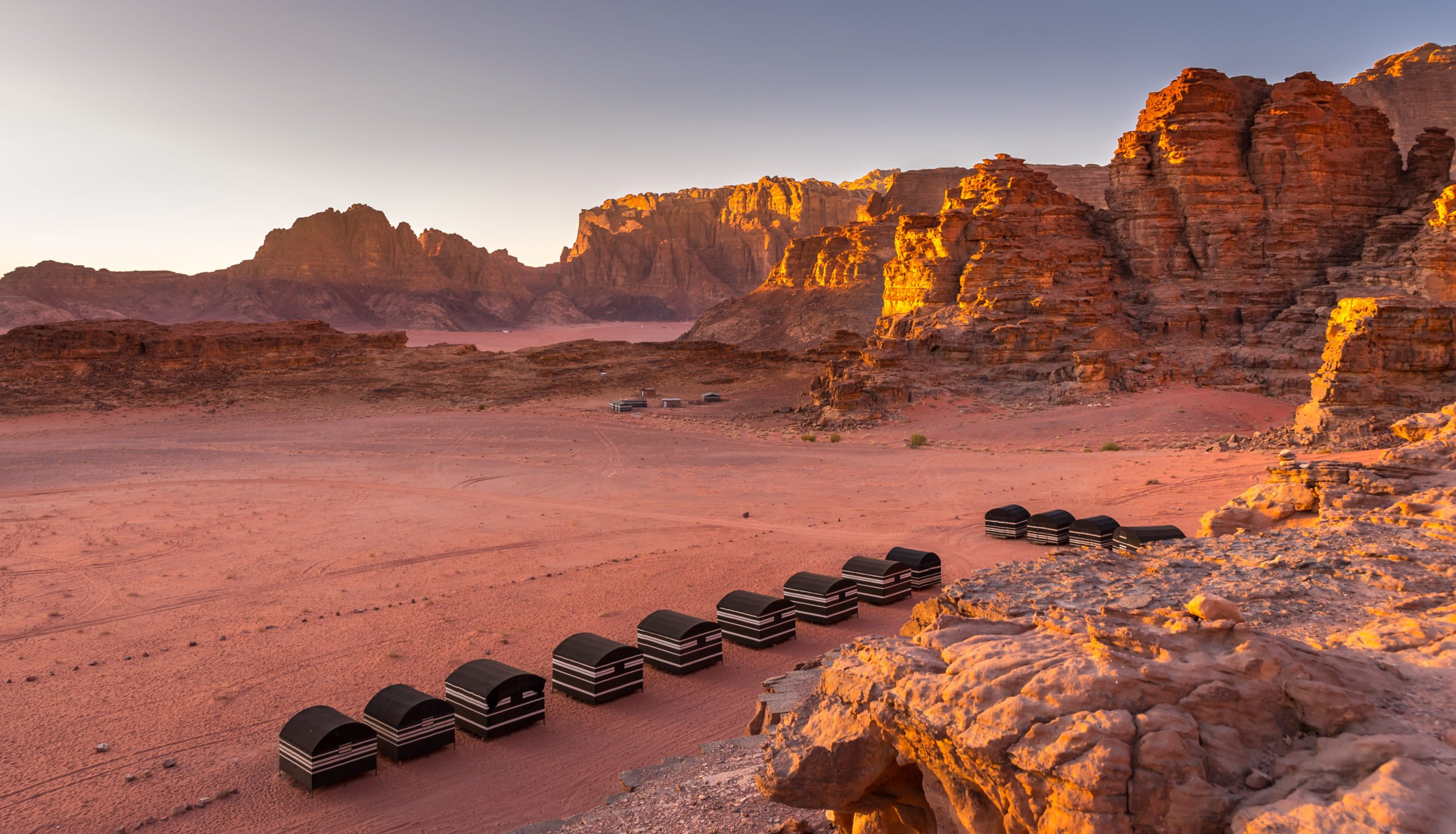 Sleep Under Starts In Wadi Rum On Ther 13 Day Highlights Of Israel, Saudi Arabia & Jordan Package Tour