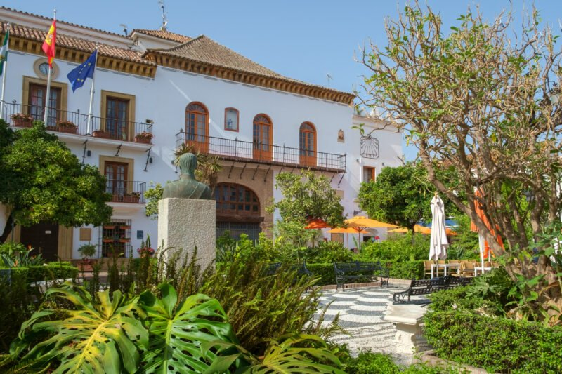 Start Your Tapas Experience In Marbella From The Plaza De Los Naranjos