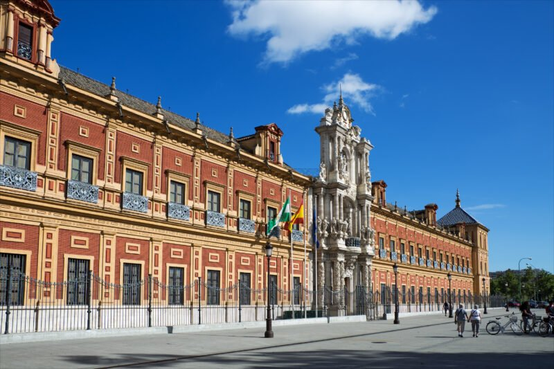 Stop At The Famous San Telmo Palace On The Insider Seville City Tour