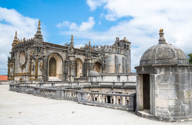 Stop By The Famous Convent Of Christ In Tomar