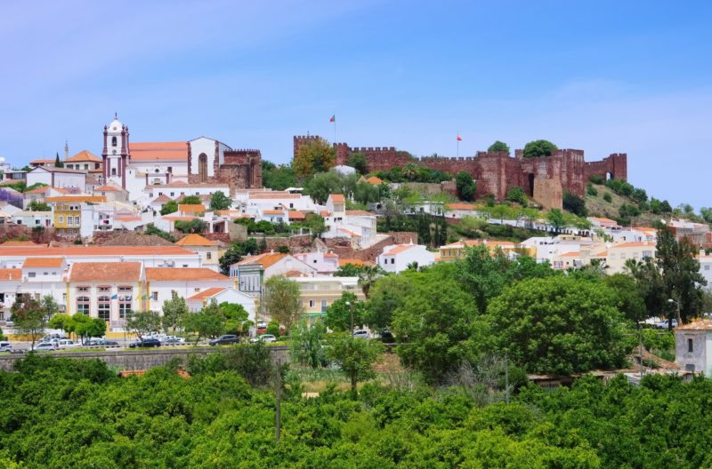 Stop In The Historical Town Of Silves