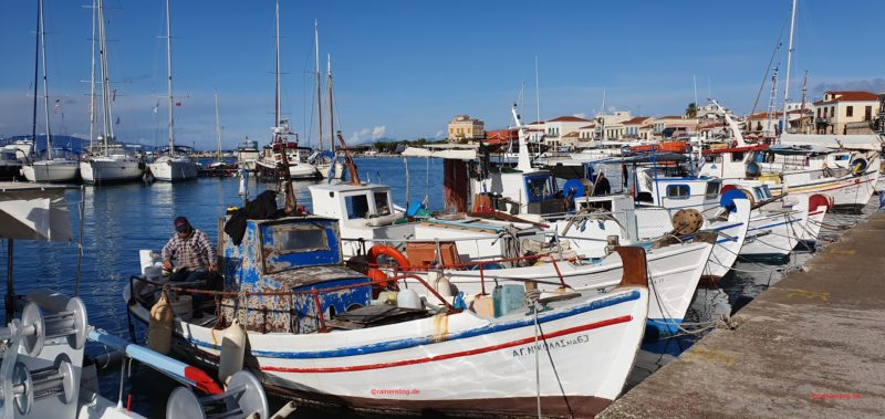 Stroll Along The Port During
