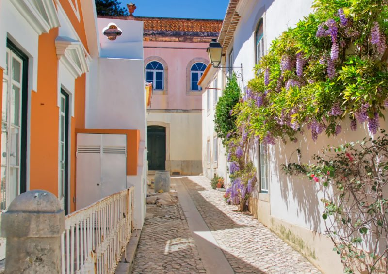 Stroll Through The Picturesque City Center Of Cascais On The Highlights Of Portugal 11 Day Package Tour