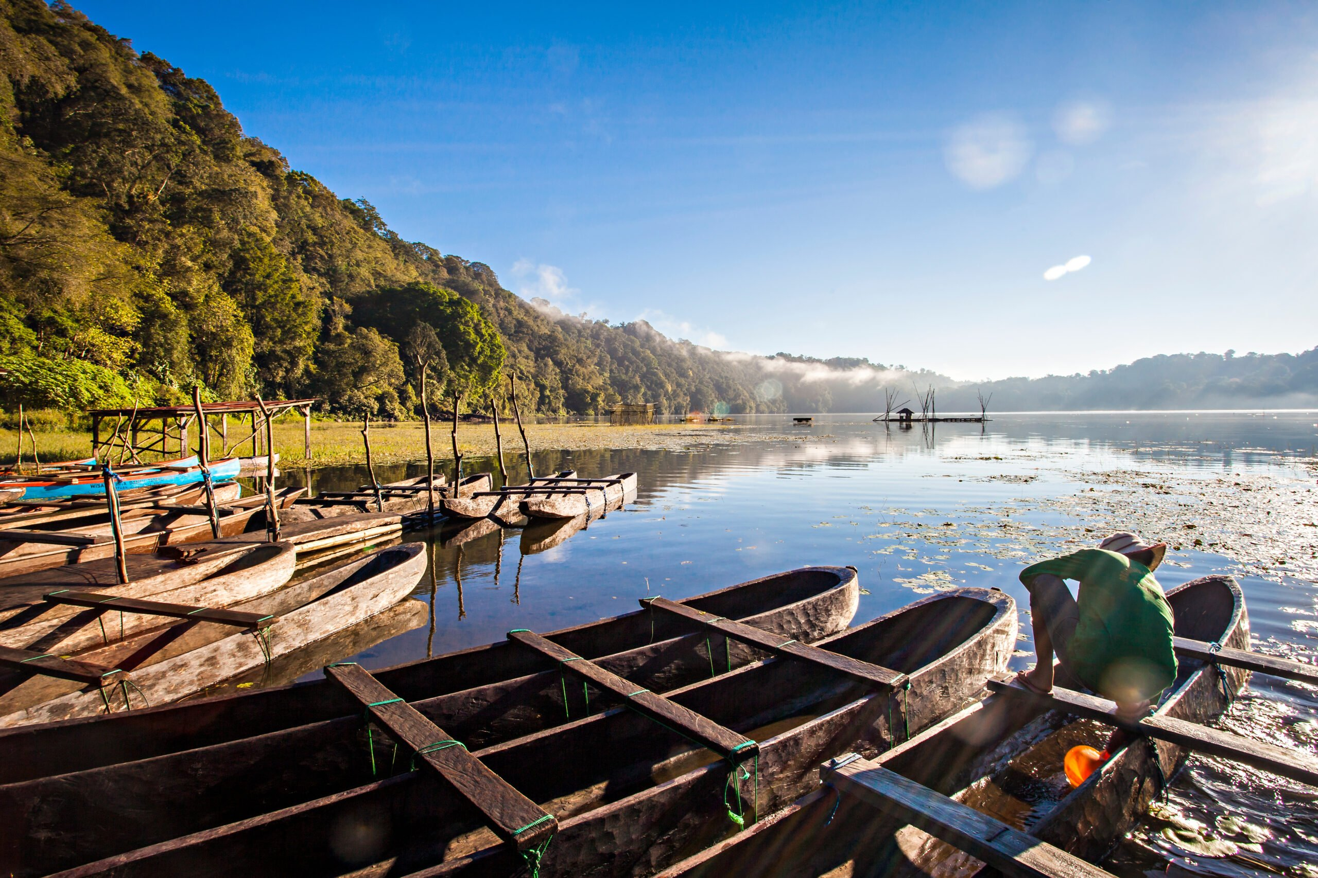 Take A Boat Ride Over Tamblingan Lake During The Northern Bali Experience