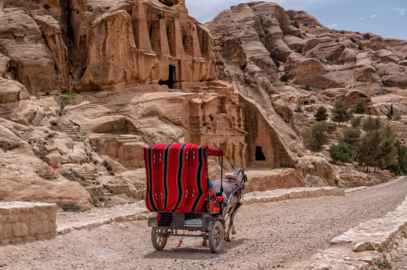 Take A Ride To The Past In Petra On The 13 Day Israel, Jordan, Dubai And Abu Dhabi Package Tour