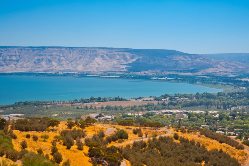 Take In The Views Over The Sea Of Galilee