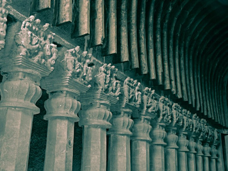 Visit A Cave With A Remarkable Carving The Classical Hindustani Musical Instrument In Our Karla And Bhaja Caves Tour
