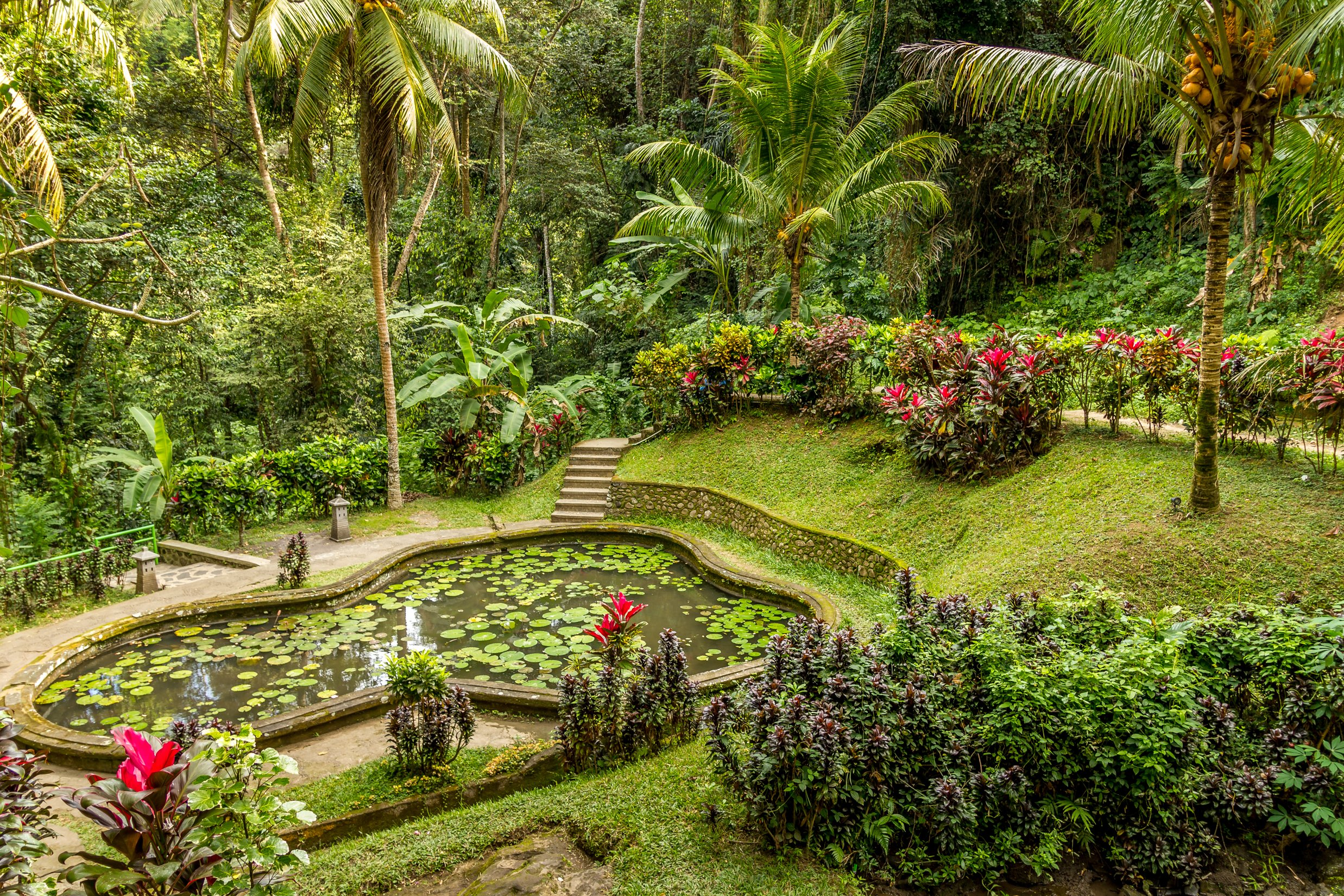 Visit The Garden Of Goa Gajah During The Bali Culture Tour