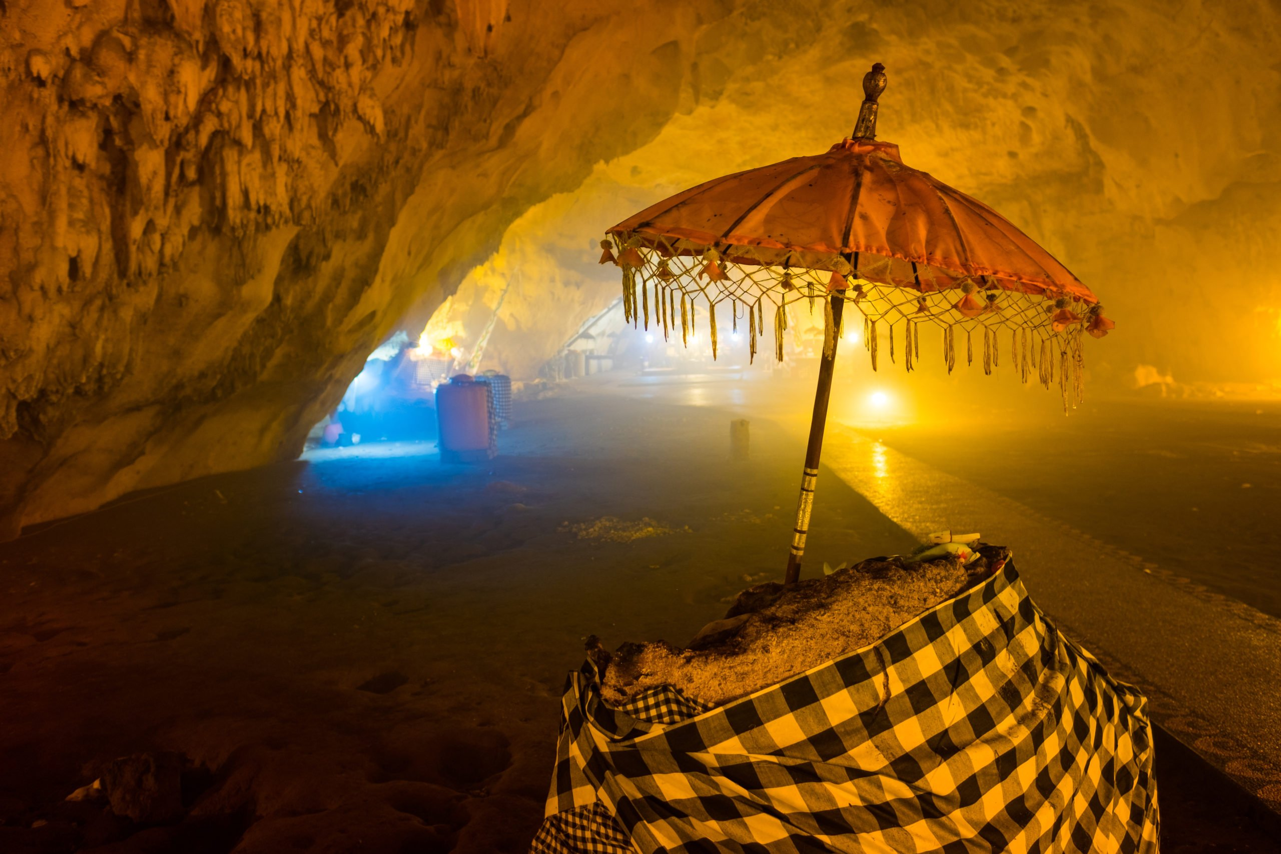 Visit The Goa Giri Putri Temple Situated In A Cave During The Penida Island Tour From Ubud, Sanur, Nusa Dua, Tanjung Benoa, Seminyak