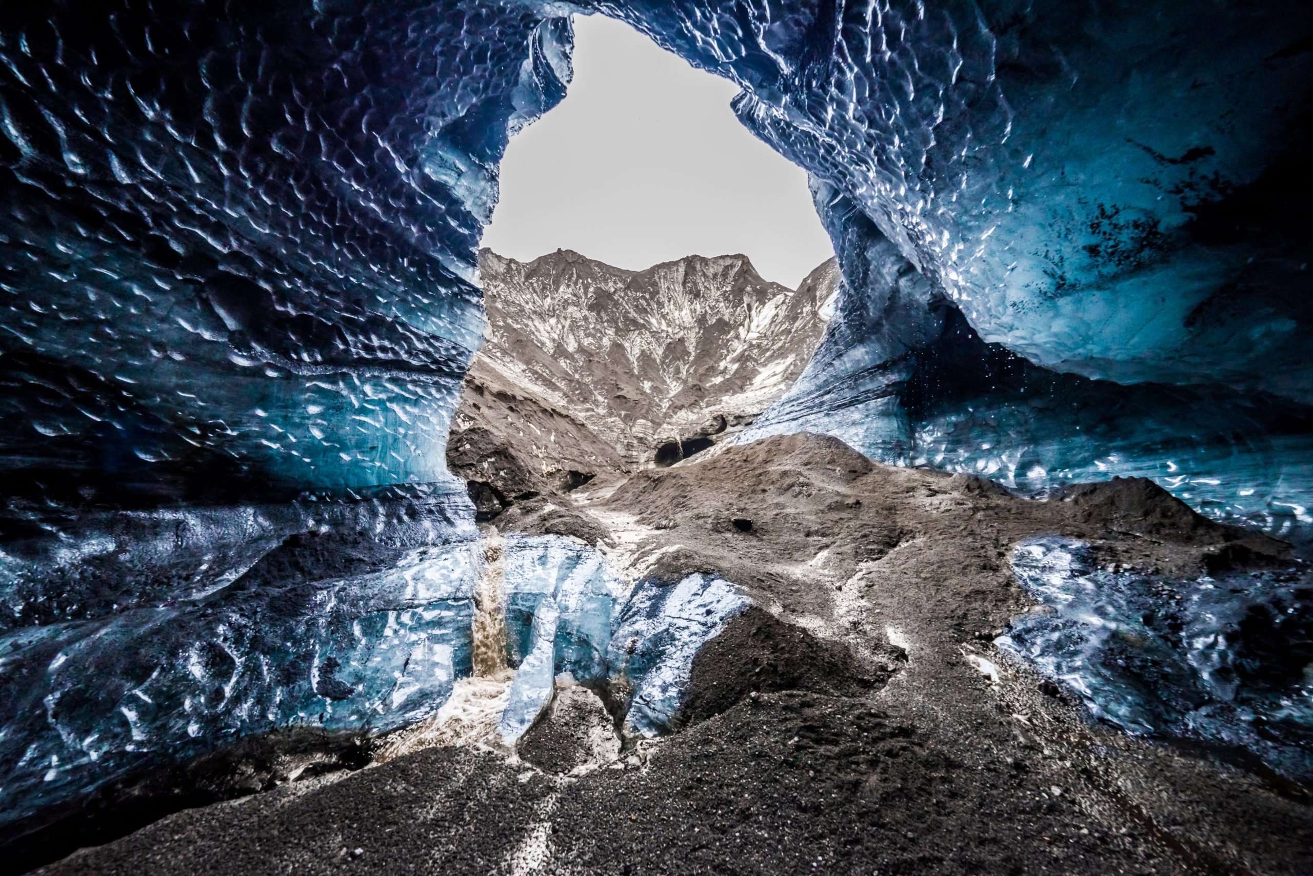 Visit To Katla Natural Ice Cave In Our South Coast And Katla Natural Ice Cave Tour