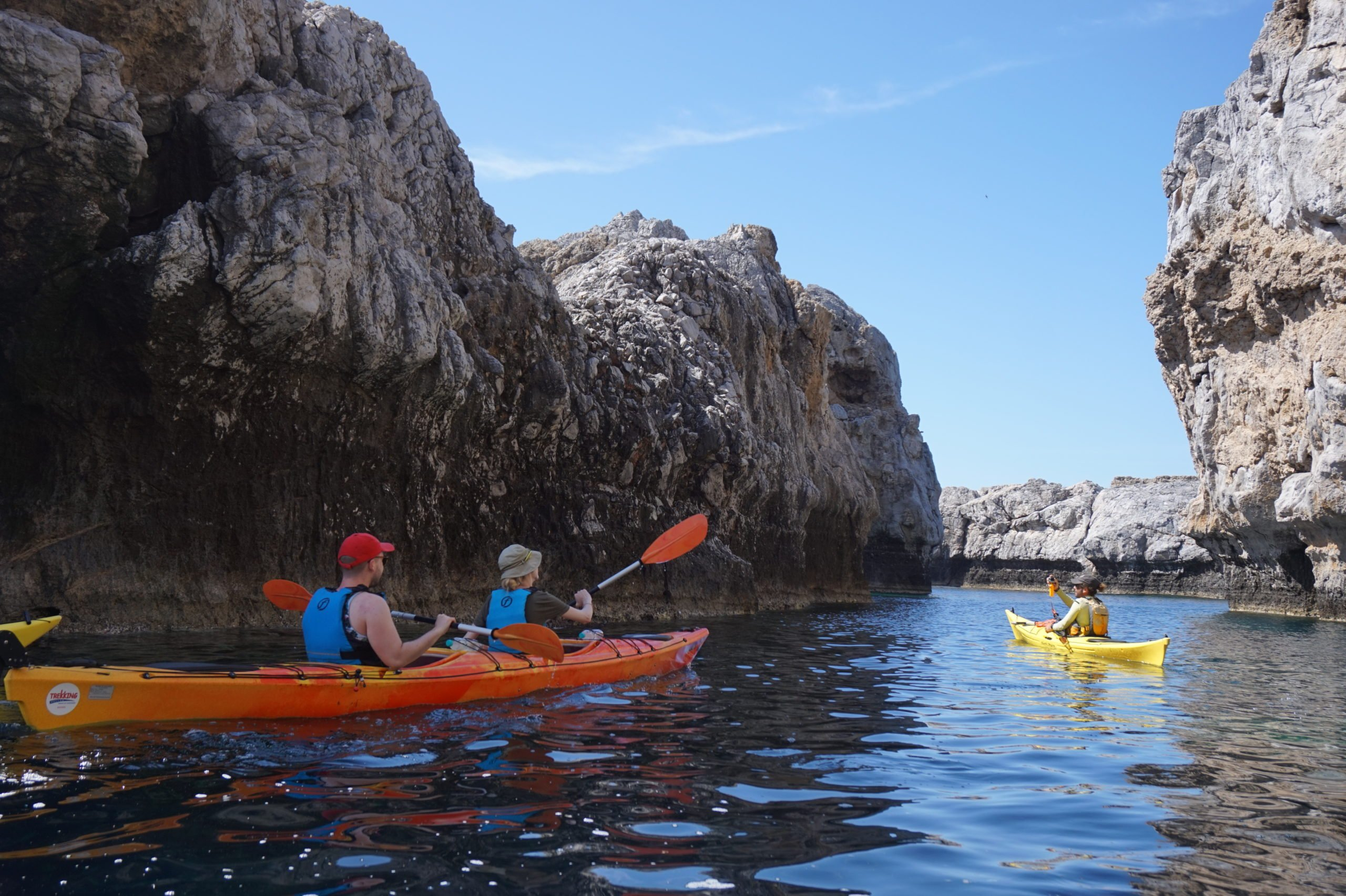 Admire The Scenery While Avoiding The Crowds In Our Sea Kayak Day Tour