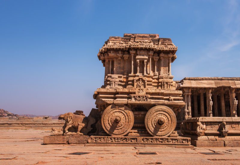 Discover The Stone Chariot At Vittala Temple In Our Bewitching Ruins Of Hampi And Badami Tour