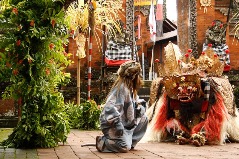 Enjoy A Traditional Barong Dance On The Bali Culture Tour