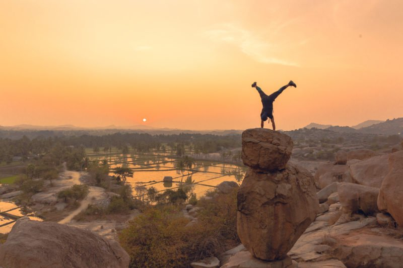 Enjoy Hampi Spectacular Sunset Point In Our Bewitching Ruins Of Hampi And Badami Tour