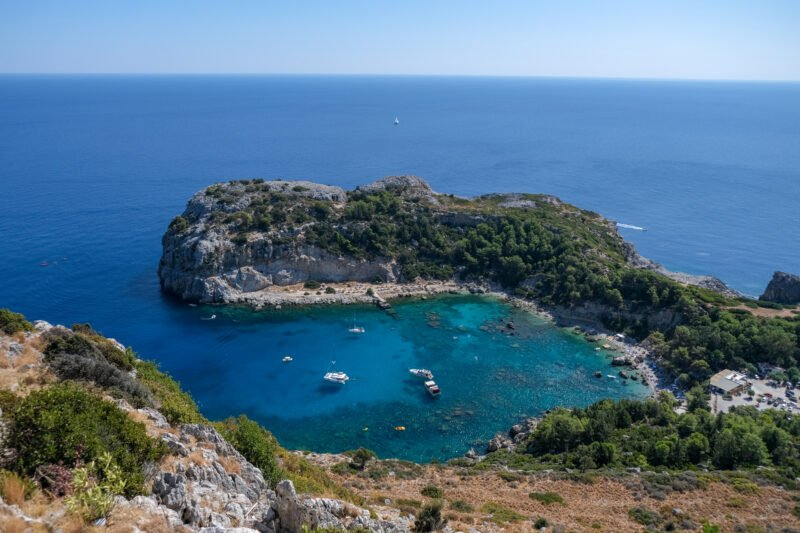 Enjoy Iconic Views Of The Surrounding Islands In Our 9 Day Island Hopping From Rhodes