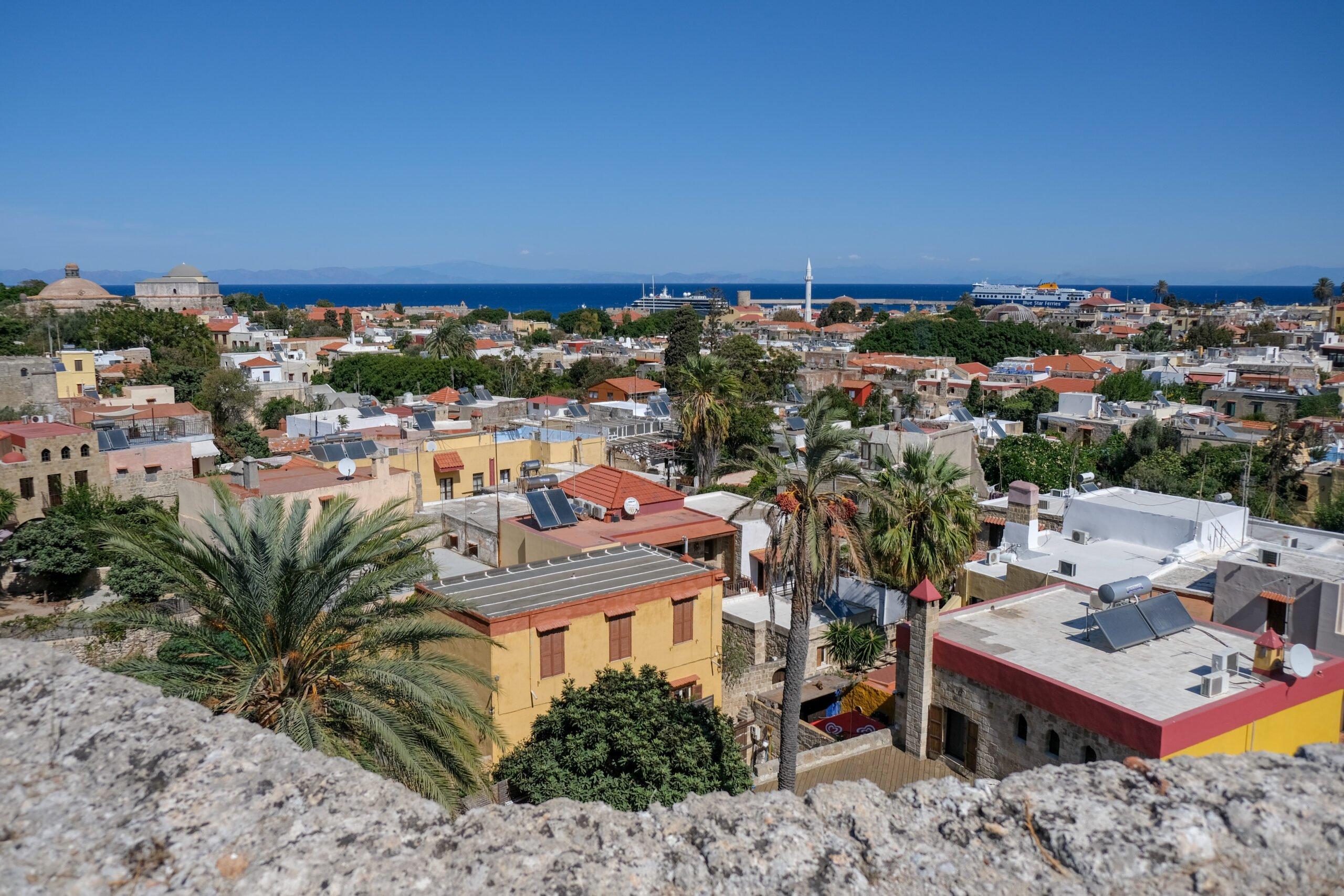 Enjoy Rhodes Amazig Views In Our 3 Day Getaway Rhodes Tour