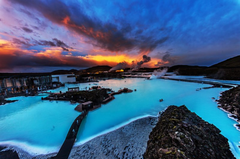 Experience The Blue Lagoon Unique Atmosphere And Silica Masks In Our Blue Lagoon & Northern Lights Tour