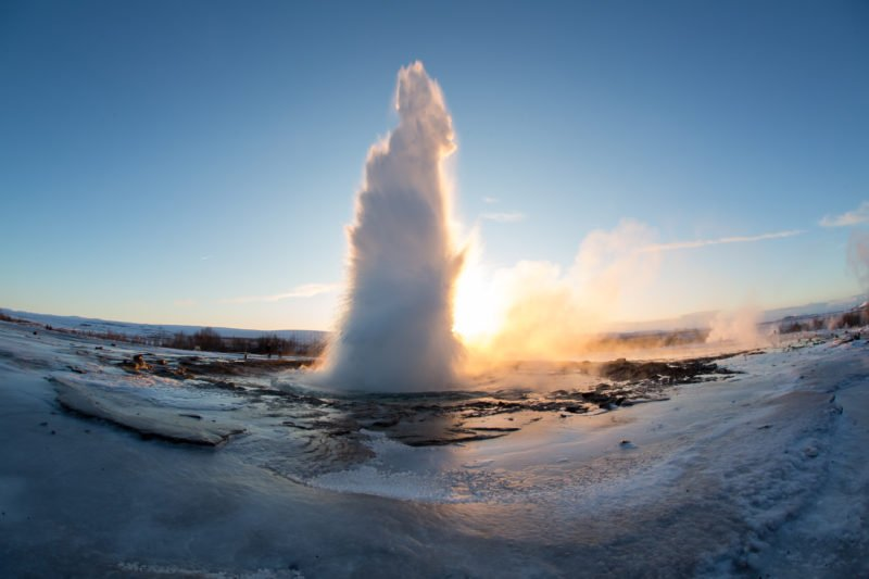 Explore The Geysir Geothermal Area In Our Golden Circle And Horse Riding Tour