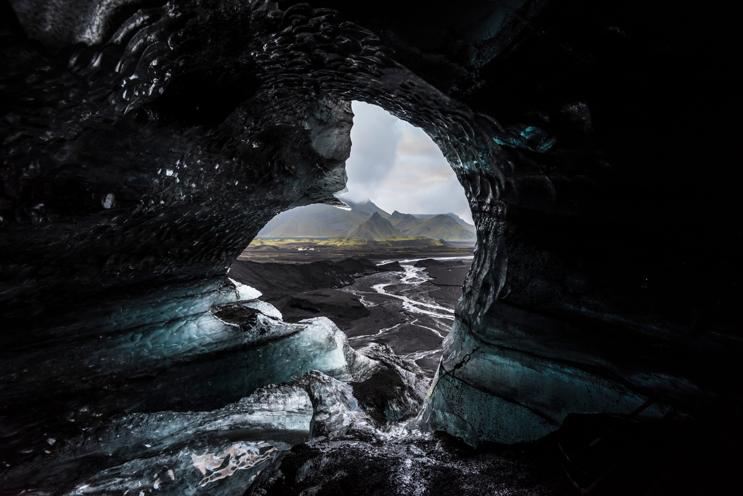 Explore The Amazing Katla Natural Ice Cave In Our South Coast And Katla Natural Ice Cave Tour