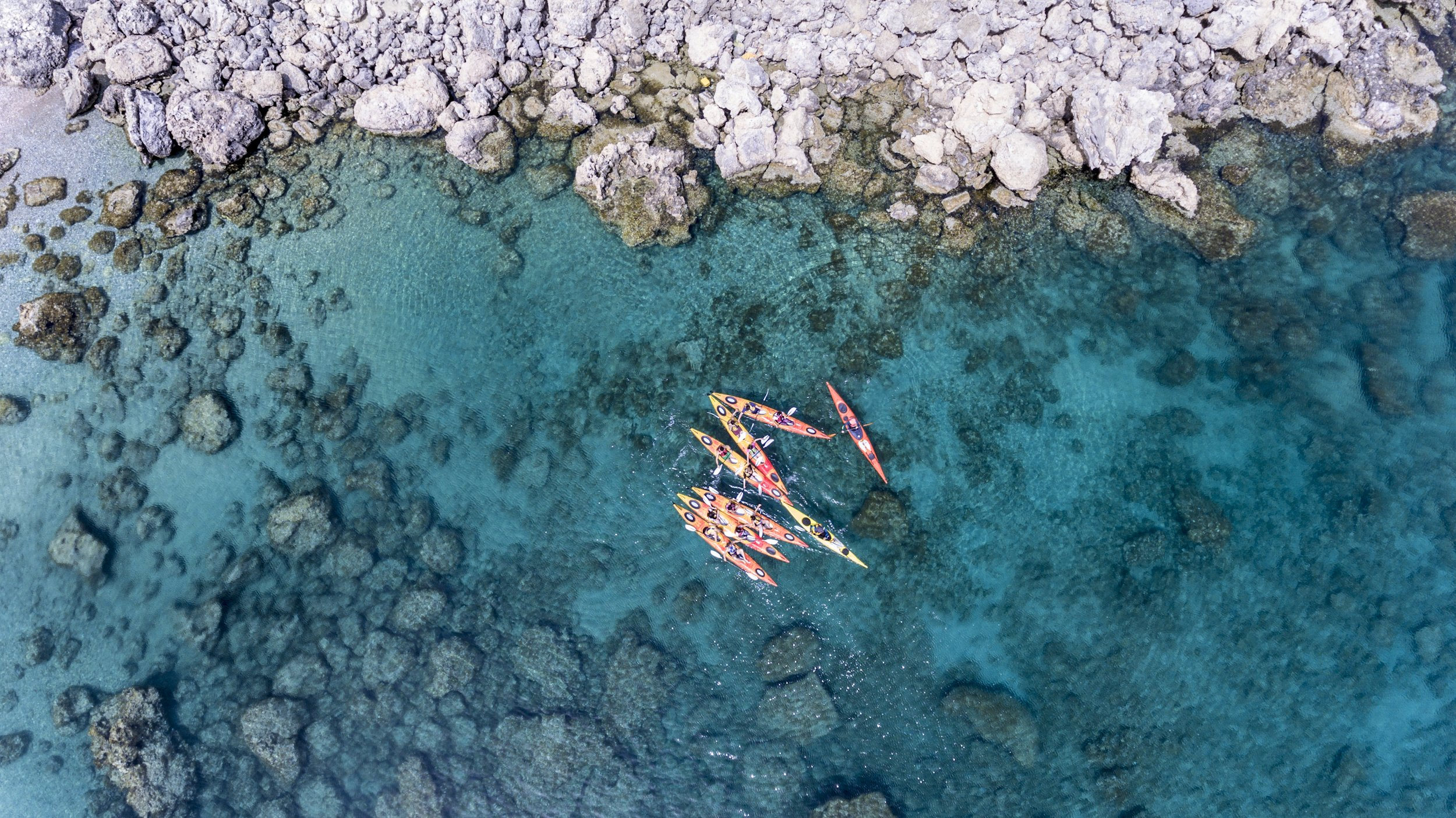 Feel The Calmness Of The Environment And Enjoy The Big Blue Of The Mediterranean Sea In Our Sea Kayak Half Day Tour