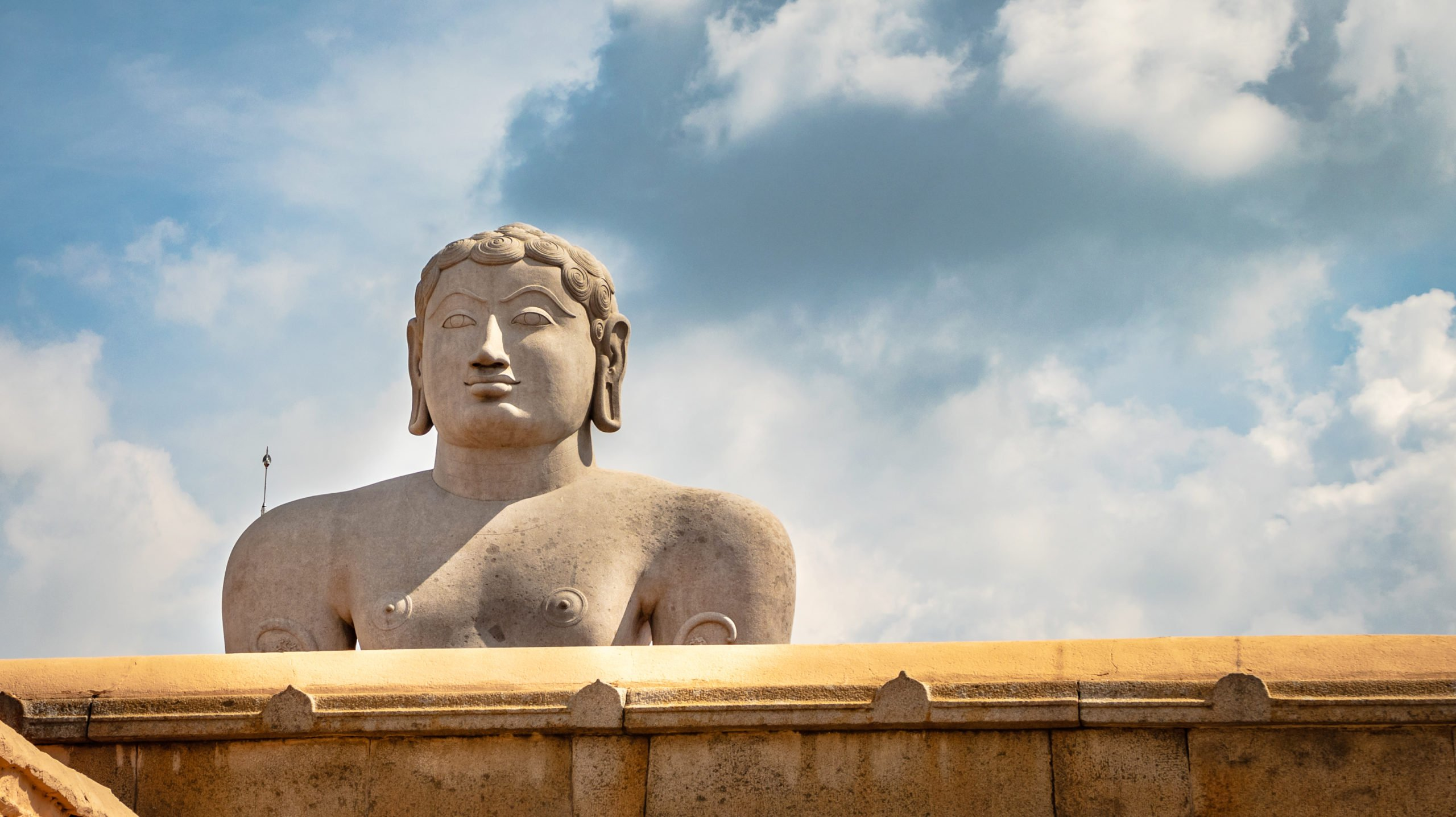 Join Us To A Scenic Climb Up Of 600 Steps To Reach The Statue Perched Up A Hill In Our Tour To The World's Tallest Monolithic Statue At Shravanabelagola