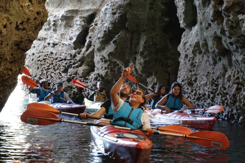 Kayaking Activity In Our 3 Day Getaway Rhodes Tour