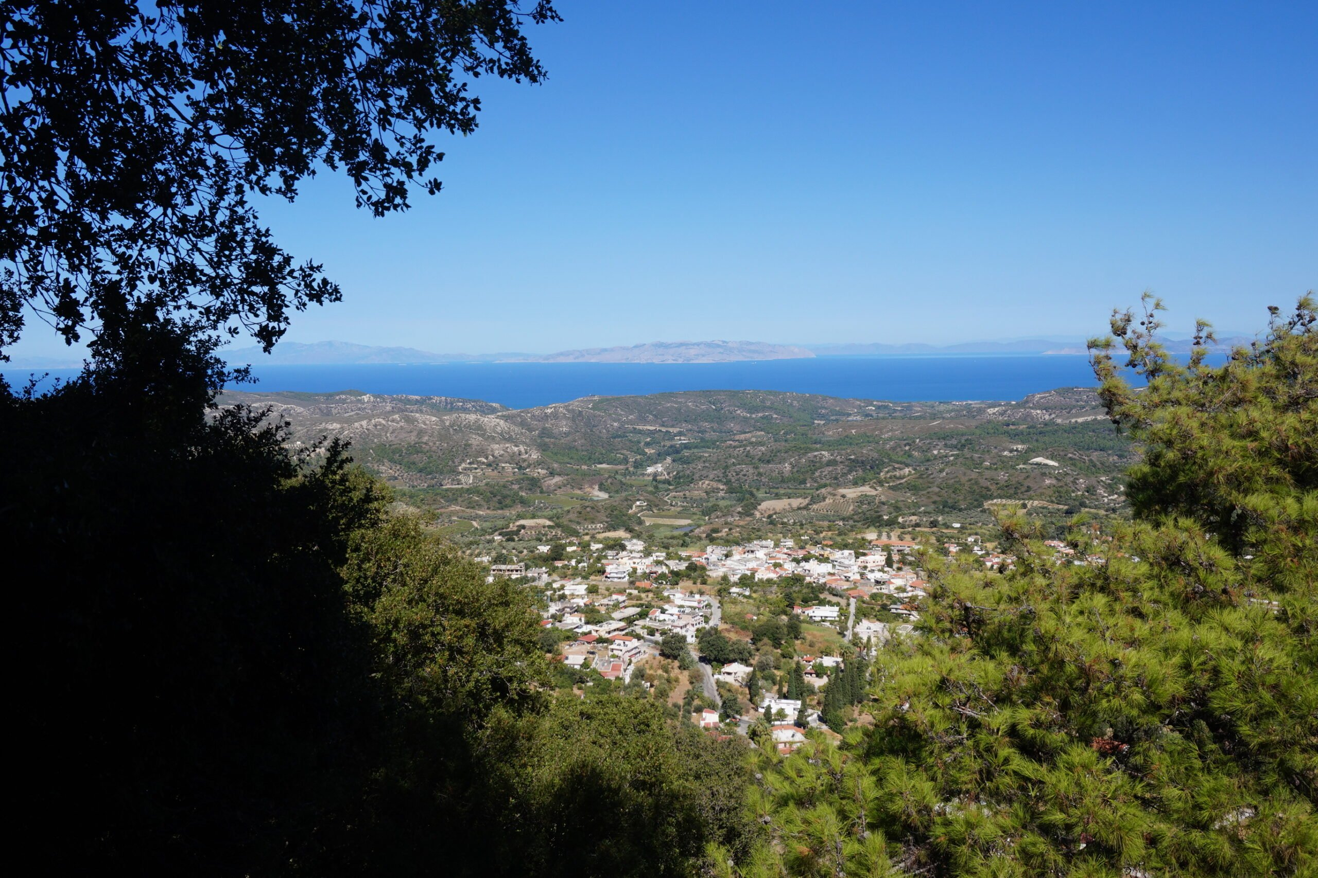 Meet In The Beautiful Village Of Salakos In Our Profitis Ilias Sunset Hiking Tour