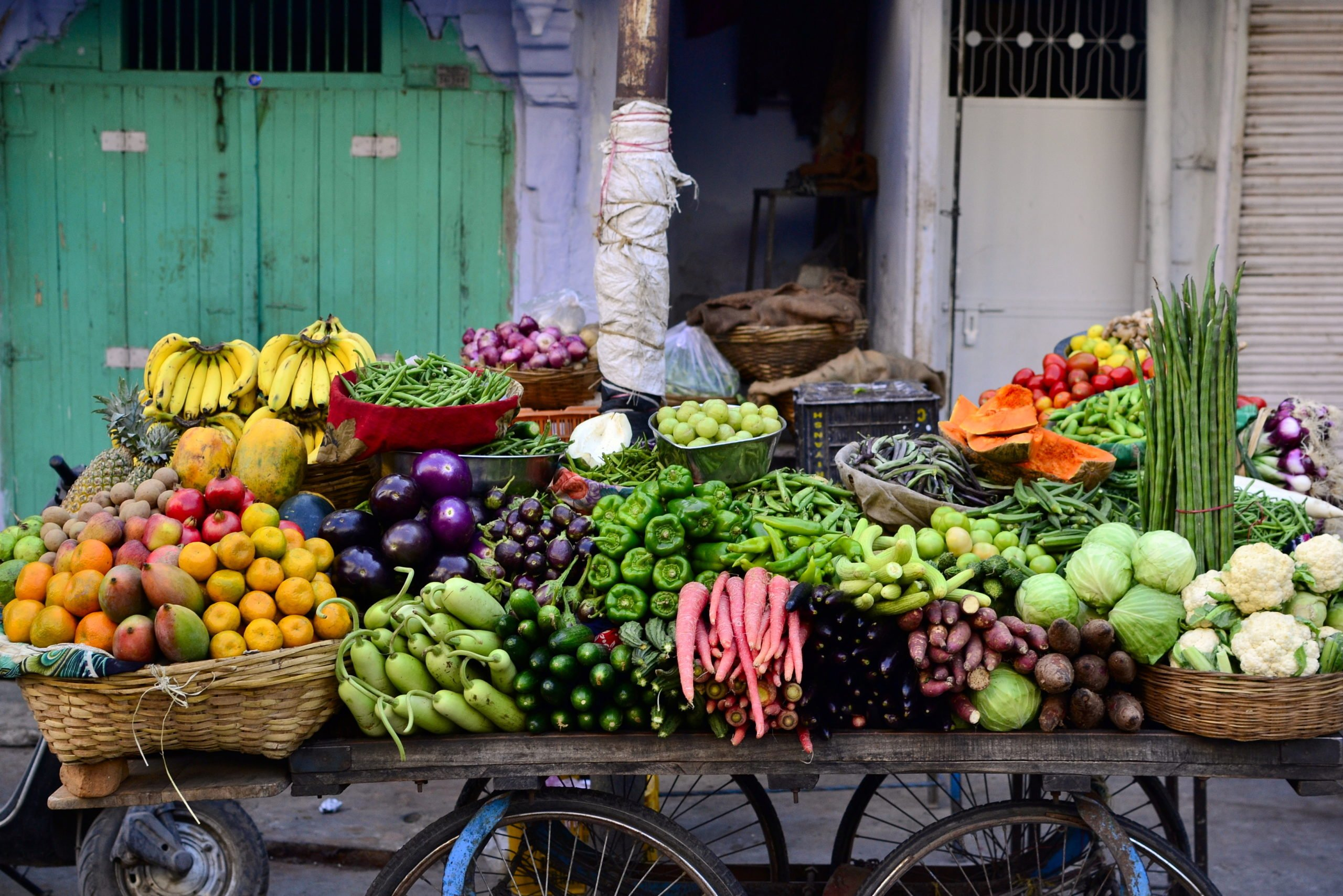 Pick Up Freah Ingredients For The South India Cooking Class In Chennai