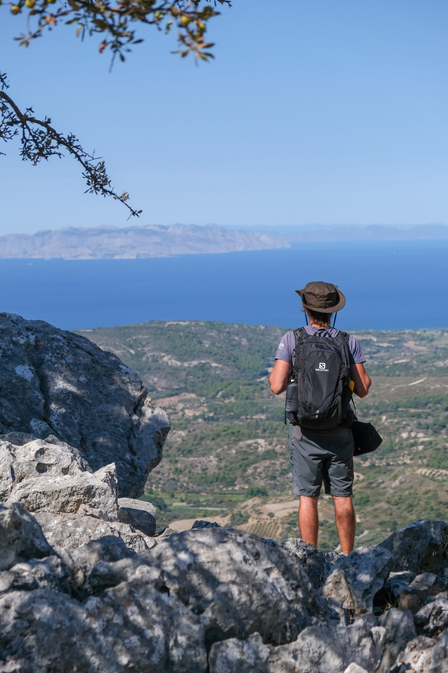 Relaxe Under The Shade Of Ilex, Pine And Olive Trees In Our Profitis Ilias Sunset Hiking Tour