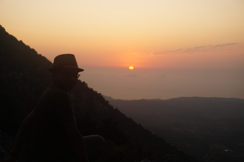 View The Magnificent Aegean Sea In Our Profitis Ilias Sunset Hiking Tour