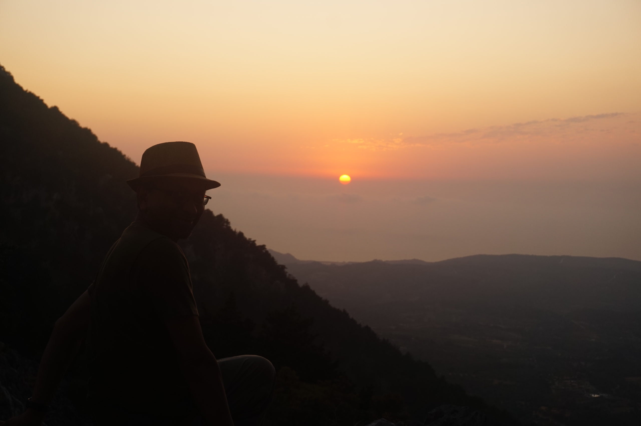 View The Magnificent Aegean Sea In Our Profitis Ilias Sunset Hiking Tour Scaled