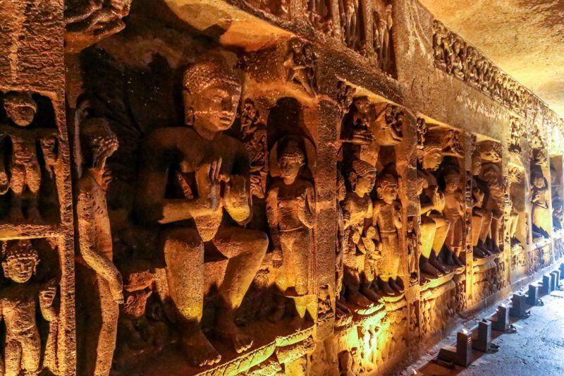 Visit India's First World Heritage Twin Sites Of Ajanta In Our 6 Days World Heritage Sites Of Ajanta Ellora & Lonar Meteor Mystery Tour