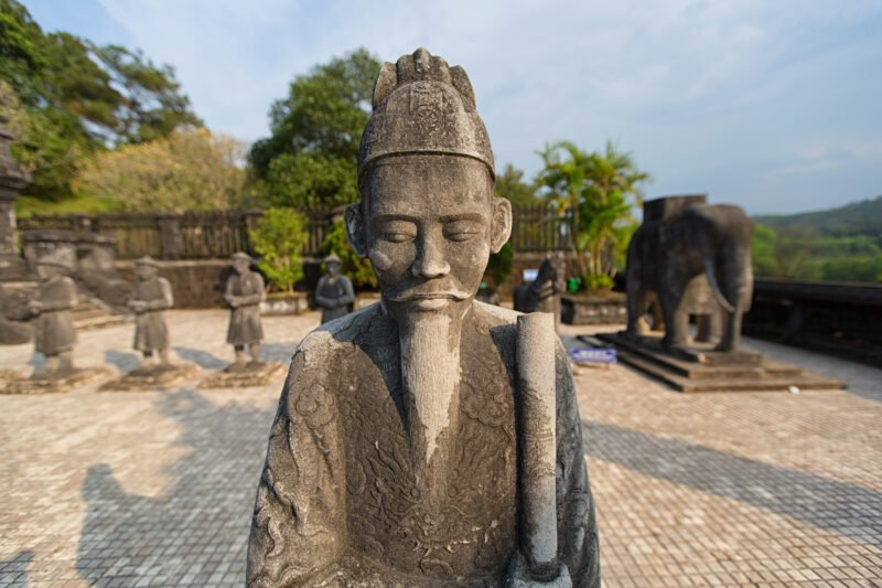 Admire The Statues Of The Emperor Kai Dinh On The Insider Hue City Tour