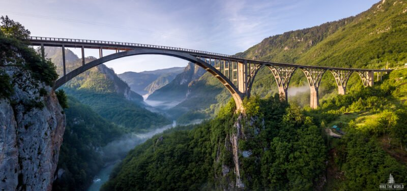 Discover Đurđevića Tara Bridge – The Highest In Europe When Built In 1940 In Our North Montenegro Tour