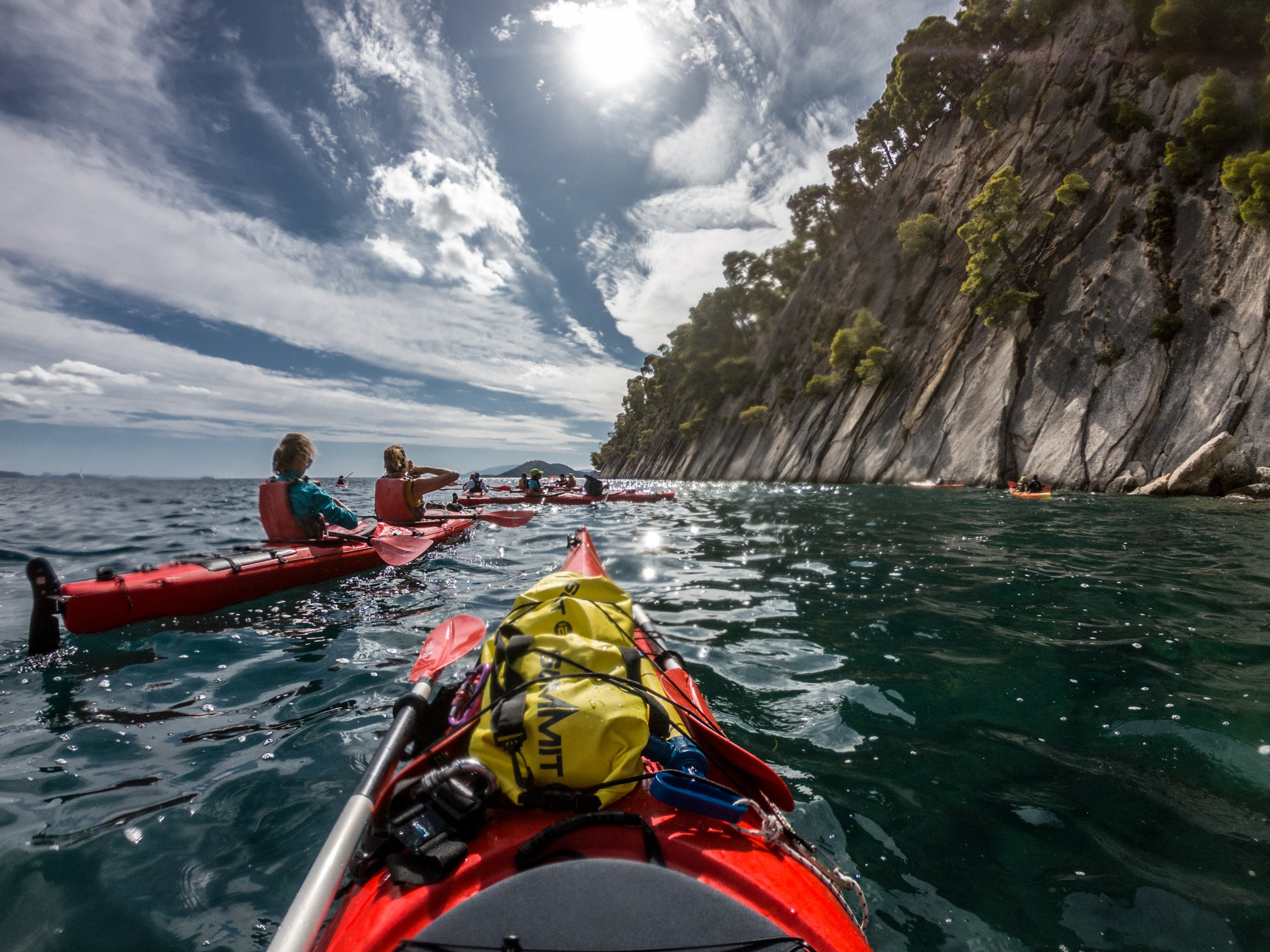 Discover The Sea Caves During The Lefkada Sea Kayak And Camping Adventure 3 Day Package Tour_89