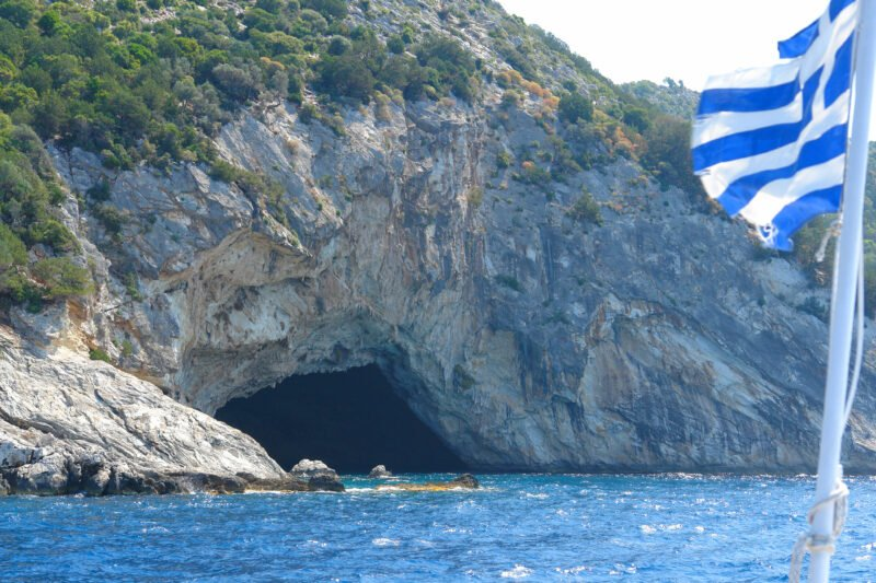 Discover The Caves Of Meganisi On The Nydri, Skorpios, Meganisi Sea Kayak Tour From Lefkada