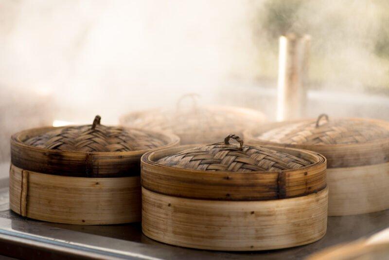 Enjoy A Thousand-layer Tofu Dumpling Stuffed With Shredded Pork In Our Suzhou Alleyway Walking Food Tour