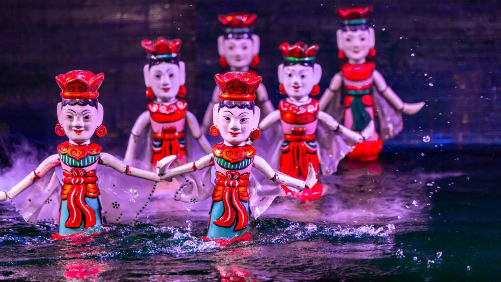 Traditional Water Puppet Show Hanoi