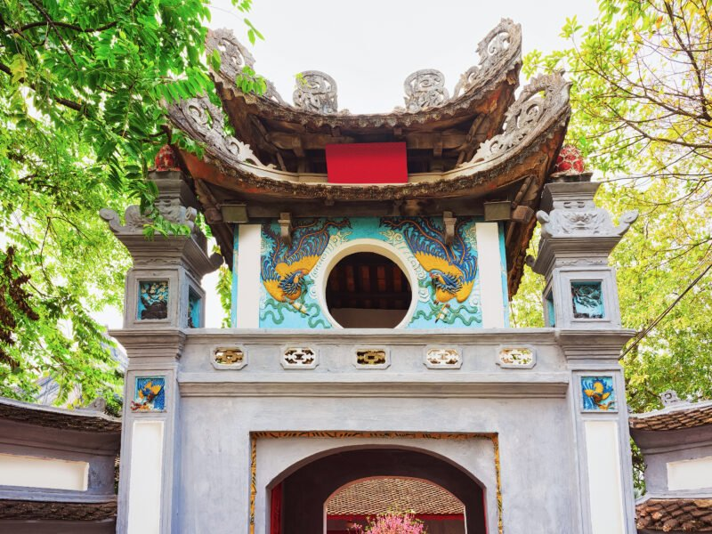 Enter The Ngoc Son Temple On The Insider Hanoi City Tour