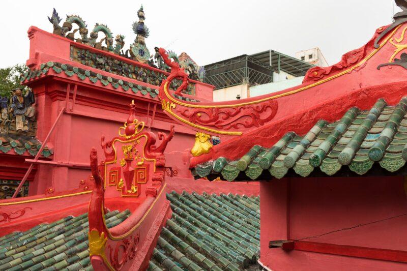 Explore The Jade Emperor Pagoda On The Ho Chi Minh Half Day City Tour
