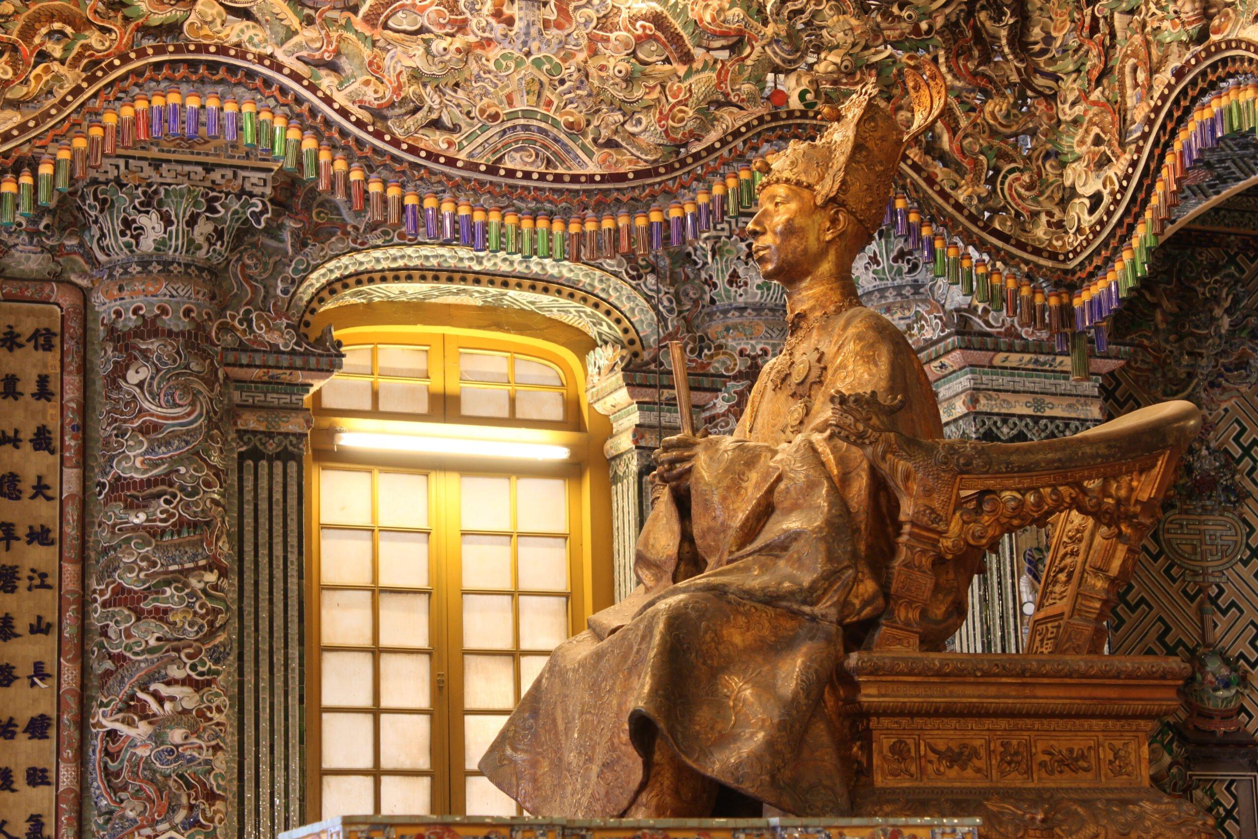 Explore The Khai Dinh King's Tomb On The Insider Hue City Tour