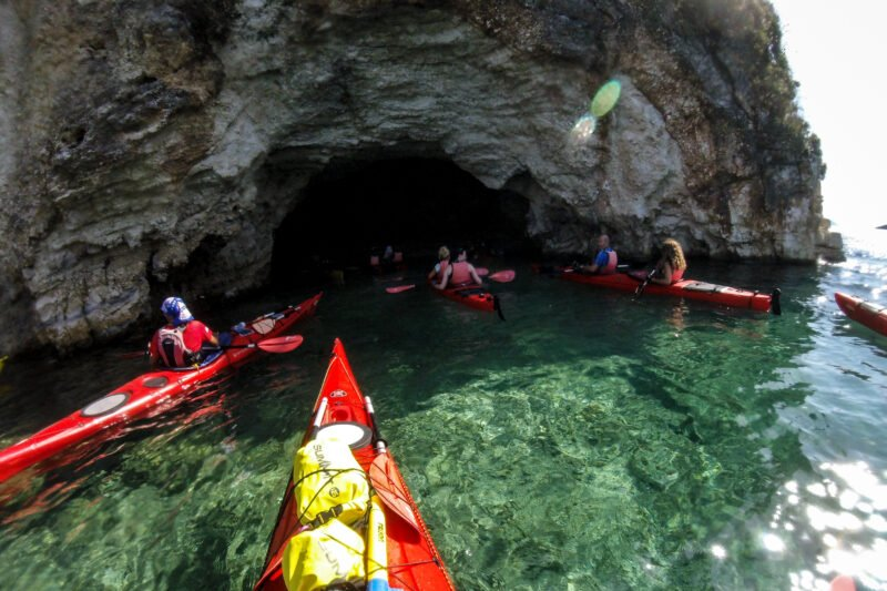Explore The Sea Caves On The Half Day Sea Kayak Tour From Poros (lefkada)_89