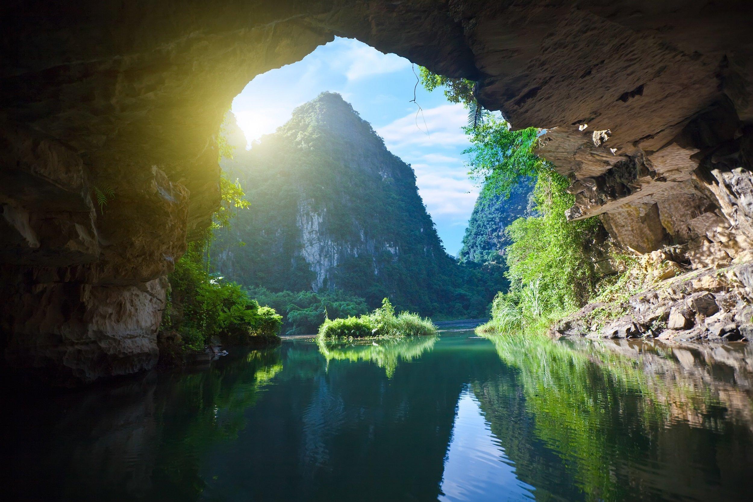 Explore The Unesco World Heritage Tam Coc On The Ninh Binh, Tam Coc, Dancing Cave & Hoa Lu Tour From Hanoi