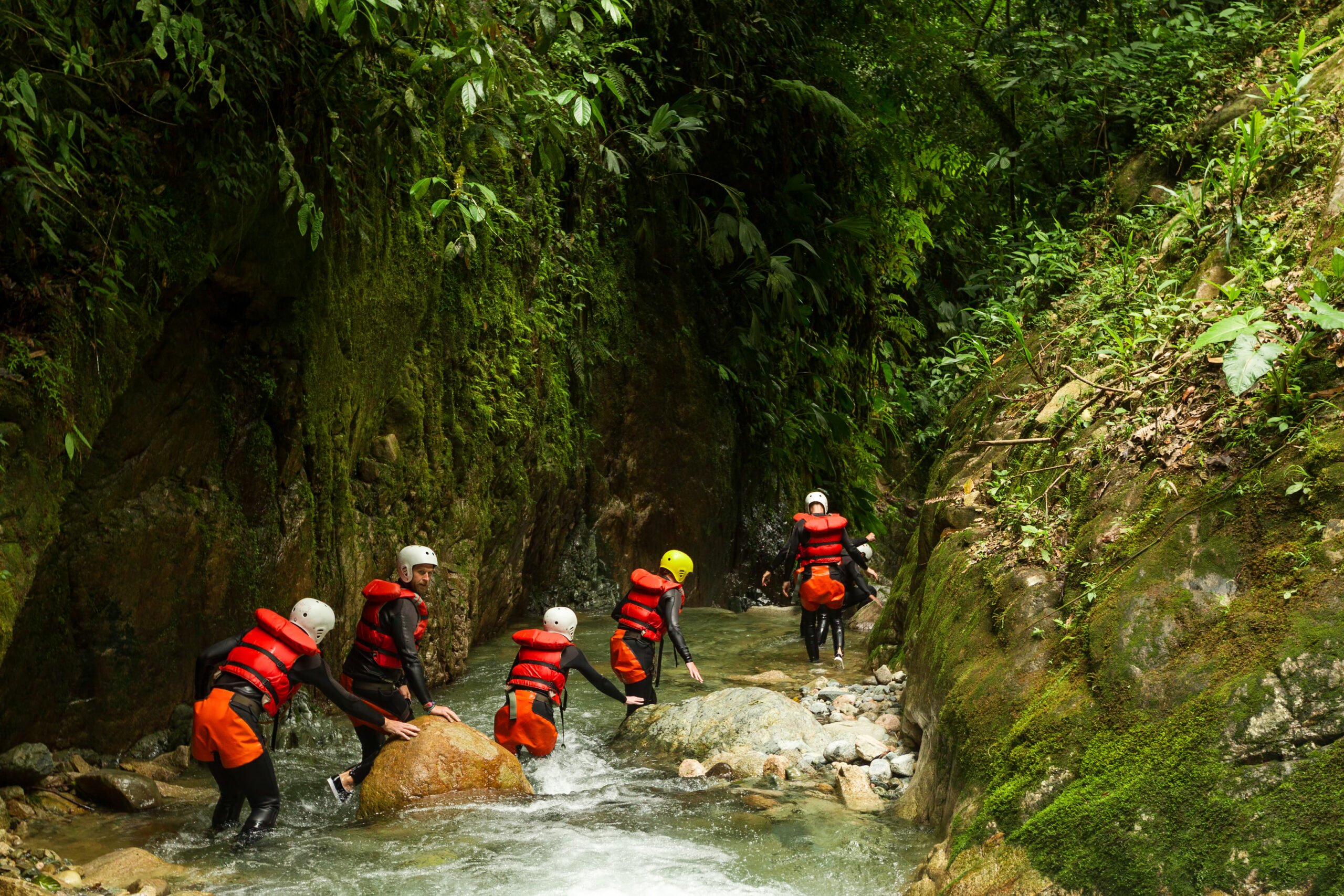 Extreme Sport In Our Cuenca Canyoning Adventure Tour